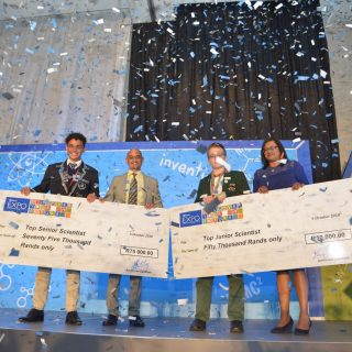 Innovation shines at Eskom young scientists' expo Eskom Expo for Young Scientists 320x320