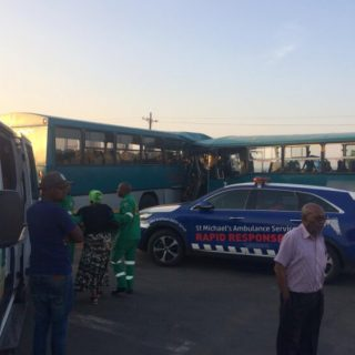 [MPOPHOMENI] – Two buses collide leaving numerous injuries. – ER24 MPOPHOMENI     Two buses collide leaving numerous injuries 320x320