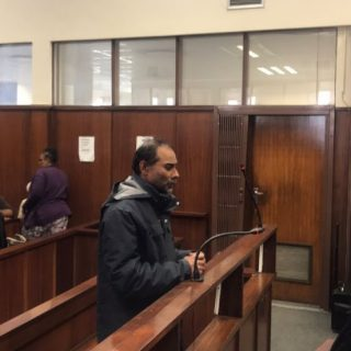 Miguel Louw's alleged killer 'taunts' prosecutor with 'catch me if you can' attitude Miguel Louw   s murder accused to stand in the dock again 320x320