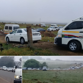 WATCH: People invade Rietspruit Farm on the Amersfoort Road | Highvelder WATCH People invade Rietspruit Farm on the Amersfoort Road Highvelder 320x320