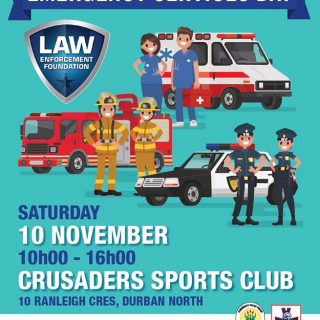 KwaZulu-Natal: Law Enforcement foundation Emergency Services Day, come meet your… 45432092 2034604176560708 8863082022260703232 n 320x320