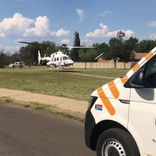 Gauteng: A video of the Netcare 1 Specialised Helicopter Air Ambulance leaving N… 45557307 1959091771059221 8716391756477759488 n 320x320