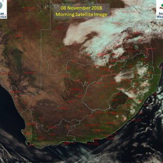 Morning satellite image (08 November 2018) – Partly cloudy to cloudy over the ea… 45638230 910428512493806 5001084671358926848 n 320x320