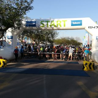 Telkom 947 Cycle Challenge MTB: Riders lined up at the start, if you are one of … 45760219 2040991199255339 6578937535718752256 o 320x320