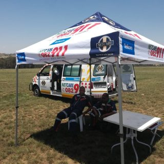Telkom 947 Cycle Challenge MTB: Netcare 911 has strategically placed medical poi… 45776560 2039974222690370 8737946973270704128 o 320x320