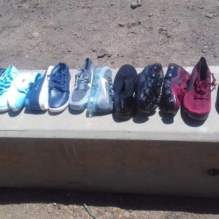 Fake clothes and shoes were confiscated at the Rawsonville Weighbridge  with a s… 45795685 1900075496707933 3911185511103856640 o 320x320