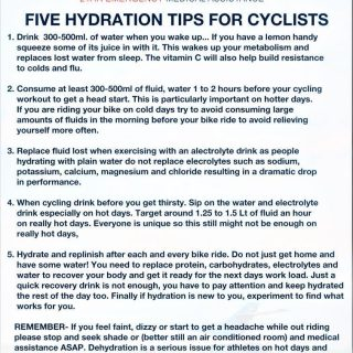 Telkom 947 Cycle Challenge MTB race: Five Hydration Tips for Cyclists. #947Cycle… 45803445 2041139839240475 9137093943538745344 o 320x320