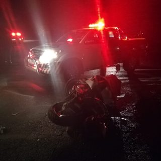 One person sustained moderate injuries when a motorbike and a taxi collided with… 45815650 2021018237959530 5733837161849946112 o 320x320