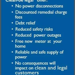 Eskom continues with the steady fight against electricity theft and non-payment … 46115116 2506929769333752 7425998437604130816 n 320x320