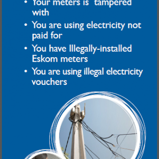 Eskom continues with the steady fight against electricity theft and non-payment … 46218378 2504010749625654 8914911187917864960 n 320x320