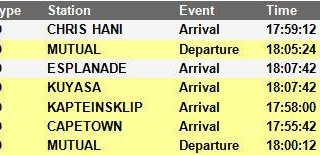 #Trainreport #CentralLineCT   Please see the current trains operating to and fro… 46232970 2821480527877515 7285436965598527488 n 320x155