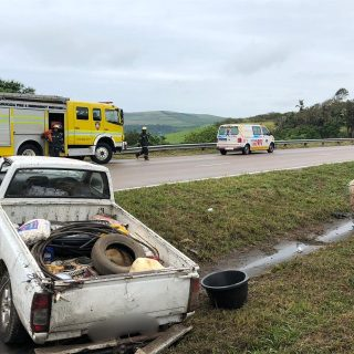 KwaZulu-Natal: No injuries reported at a single vehicle collision on the N2 Sout… 46413077 2051200088234450 482324810160930816 o 320x320