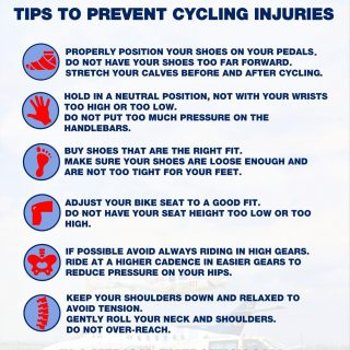 Telkom 947 Cycle Challenge: Tips to Prevent Cycling Injuries. #947CycleChallenge… 46453286 2050743911613401 3263882022031982592 o 320x320