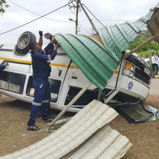 Seven Injured After Taxi Overturns: Waterloo – KZN  Seven occupants of a Toyota … 46482313 2207789965906252 1398072169073737728 n 320x320