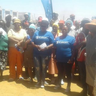 Today #EskomFreeState customers were encouraged to #ComeClean and be legal durin… 46501157 2518437508182978 5441204740572577792 o 320x320