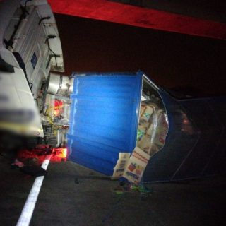 KwaZulu-Natal: An adult male truck driver sustained minor injuries after losing … 46512253 2057426940945098 6913228867729620992 o 320x320