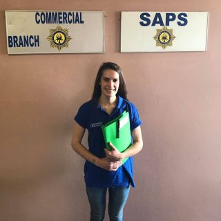 IRS investigator Carla Botes at East Rand Commercial Crimes Unit this morning re… 46963799 2208388599192535 3939832182758965248 o 320x320