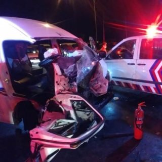 [DOBSONVILLE] One killed, five injured in three-vehicle collision – ER24 DOB 1 320x320