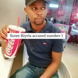 First photos of accused in Pete Mihalik murder. Sizwe Biyela is accused no 1, an… First photos of accused in Pete Mihalik murder