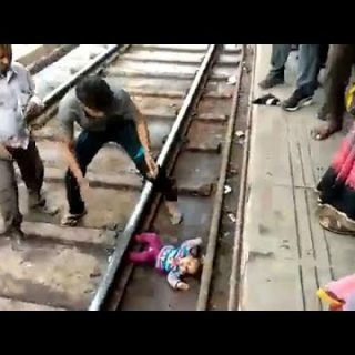 Watch: Baby in India survives after being 'run over' by train Watch Baby in India survives after being run over by train 320x320