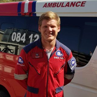 Wayne: From the stage to the ambulance – ER24 Wayne P1 320x320