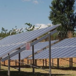 South Africa successfully delivers electricity with the solar microgrid project solar 320x320