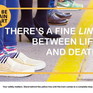 #BeTrainSmart Your safety matters. Stand behind the yellow line until the train … 47320918 2863907866968114 3625529302126166016 o 320x320
