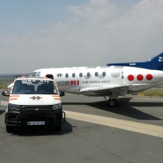 Angels Over Africa: A Netcare 911 air ambulance with Doctor and Paramedic has be… 47379650 2070090583012067 8895542487435706368 o 320x320
