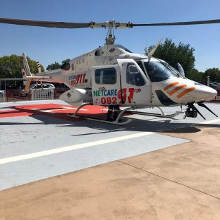 Helicopter Emergency Medical Services: Netcare 2 a specialised helicopter ambula… 47393093 2068888793132246 2040513905490395136 o 320x320