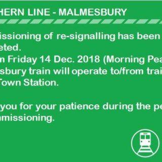 #NorthernLineCT – Malmesbury #ServiceAdvisory : 48167226 2883308681694699 6775748845780336640 n 320x320