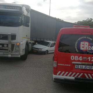 One woman was hospitalised following a collision between a truck and light motor… 48367114 2068173356577351 6638043054580170752 n 320x320