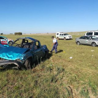 Gauteng: One person has died, seven others injured in a single vehicle rollover … 48369358 2082441941776931 5139915623731560448 n 320x320