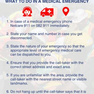 What to do in a medical emergency. 48394565 2092961334058325 2526650606500708352 o 320x320
