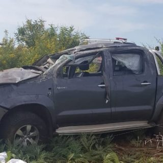 North West Province Update: The light delivery vehicle that rolled near Lekgalon… 48414709 2100793673275091 7466585247191138304 o 320x320