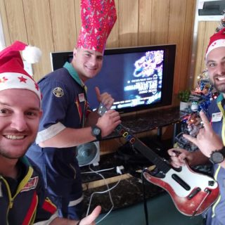 Netcare 911 staff from Pretoria East Hospital having some Christmas fun. 48426163 2100860043268454 8499485737547202560 n 320x320