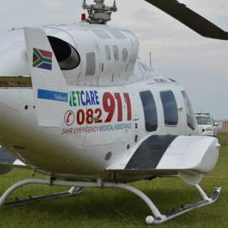 Gauteng Helicopter Emergency Medical Services: Netcare 1 a specialised helicopte… 48426491 2102066556481136 4997845175096049664 o 320x320