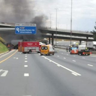 Gauteng: Truck collision and fire on N3 direction east, N3 closed at the Modderf… 48891748 2104769732877485 9173409889186217984 n 320x320