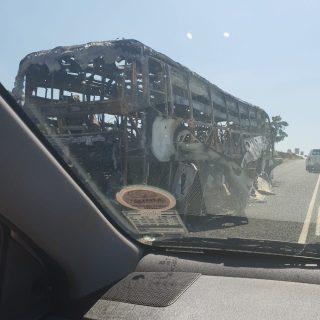 No injuries  Foto:  Ilza Green – Botrivier  …. die bus wat uitgebrand het 49012461 1954952811220201 4690894943466553344 o 320x320