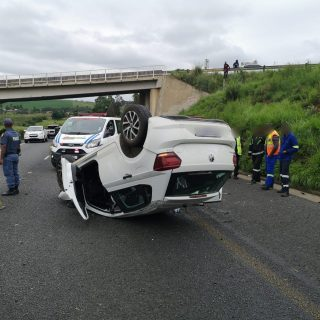KwaZulu-Natal: An adult female sustained minor injuries in a single vehicle roll… 49449275 2104886602865798 1576788124787277824 o 320x320