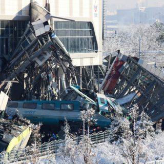 Ankara train crash leaves nine dead, 47 injured Ankara train crash leaves nine dead 47 injured 320x320