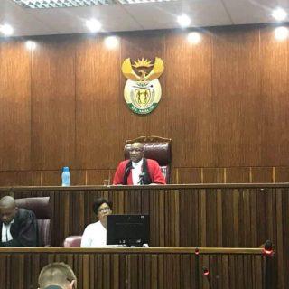 #BabyRailen case. Court is packed. Judgement will be read soon. Judge Mashitse h… BabyRailen case