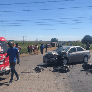 [PUTFONTEIN] – Head-on collision leaves two injured. – ER24 PUTFONTEIN     Head on collision leaves two injured