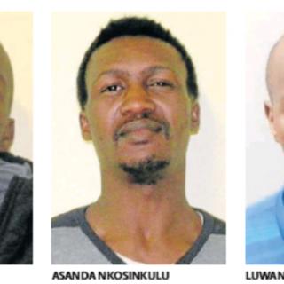 Police hunt for three escaped men Police hunt for three escaped men 320x320