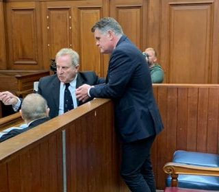 #Rohde Jason Rohde handcuffed and in running shoes arrives for sentencing procee… Rohde Jason Rohde handcuffed and in running shoes arrives for sentencing procee