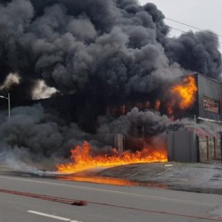 WATCH: Warehouse fire at Durban's New Germany Industrial Park | Daily News WATCH Warehouse fire at Durbans New Germany Industrial Park Daily News