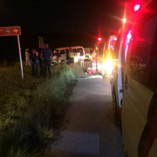 [STEADVILLE] 16 injured after bakkie and taxi collides – ER24 WhatsApp Image 2018 12 23 at 09