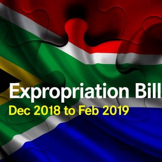 Gov calls for public comment on Expropriation Bill released 21 December 2018 expropriation bill 320x320