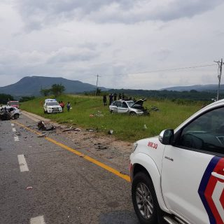 [NELSPRUIT] Two people killed and five injured in head-on collision – ER24 2018 12 31 at 16