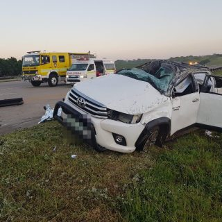12 January 2018  1 Dead, 1 Injured – N2 Ballito  Earlier this morning a driver o… 49368642 2523653511043267 8269365908133117952 o 320x320