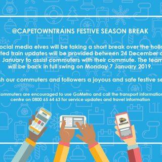 #FestiveSeason  The #TrainReport team will be taking a #Festive season break – l… 49464898 2927850000573900 289001348551147520 o 320x320